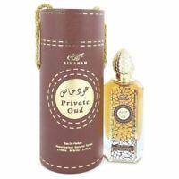 Rihanah Private Oud Eau De Parfum Spray Unisex 3.4 oz