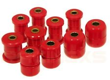 Uprated poly complete set control strut arm bush bushes Toyota MR2 Mk1 84-89 RED
