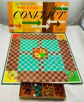 1960 Conflict Game by Parker Brothers Complete in Very Good Condition FREE SHIP