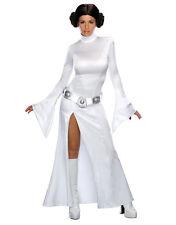 """STAR Wars Donna Costume da principessa Leila s3, piccolo, ci (2-6), Busto 33-35"""", girovita 25-26"""""""
