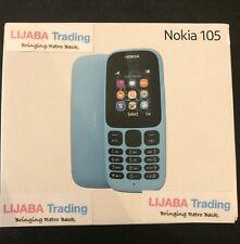 Nokia 105 - BLUE - BRAND NEW - RETAIL BOXED