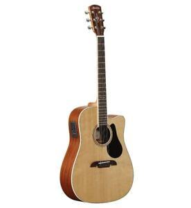 Alvarez AD60CE Artist Series Solid Top Acoustic Electric Dreadnought Guitar