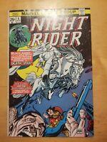 Marvel Comics NIGHT RIDER #6 (1975) Bronze Age