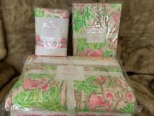 Pottery Barn Kids Lilly Pulitzer Quilt Patchwork In On Parade Twin Sheet Sham