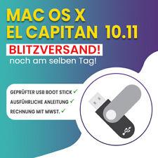 Mac OS X 10.11 El Capitan macOS USB Boot Stick! Blitzversand noch am selben Tag!