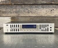Rare Vintage Sansui RG-7 (1983) Stereo Graphic Equalizer Consolette see desc