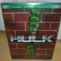 [DVD] The Incredible Hulk 3-Disc Target Exclusive - RARE - NEUF SOUS BLISTER