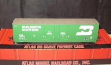 HO Scale Atlas 1751-2 Evans Double Plug Door Box Car Burlington North FWD#750018