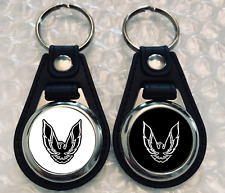 BLACK AND WHITE TRANS AM KEYCHAIN SET