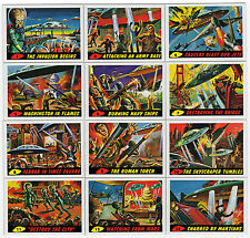 2012 Topps Heritage MARS ATTACKS 1962 Reprint Vintage Style 55 Card Base Set