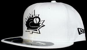 World Baseball Classic Team Canada 59Fifty New Era Fitted Hat - Black White Grey