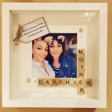 Handmade Personalised Mother Daughter Frame Mum Photo Frame Mother's Day Gift