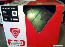 Red señora casco womens Hi-Fi, Green UE, tamaño XS, policarbonato cáscara, verde, nuevo