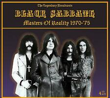 BLACK SABBATH ‎–MASTERS OF REALITY 1970-75 -The Legendary Broadcasts - 4CD SET