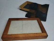 Vintage Wooden Dark Slide Plate Holder For 4.5x6.5 Inch Field Camera Dry Plate