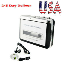 Portable Usb Cassette Tape to Mp3 iPodCd Converter Music Player Usa Shipment