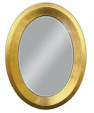 Wall Mirror Oval Mirror 80x60 CM Antique Baroque IN Gold With Facetteschliff Woe