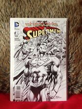 THE COMING OF THE SUPERMEN # 1 VARIANT EDITION 1 in 25 ADAMS DC  COMICS