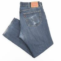 Vintage LEVI'S 559 Relaxed Straight Fit Mens Blue Jeans W38 L30