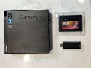 Lenovo Mini Desktop ThinkCentre M93 Tiny - Core i3 - 6GB -  256GB SSD