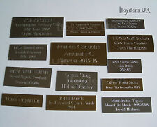 Square Edge Engraved Plaques Plates for Awards, Pictures, Frames, Engraving Cell