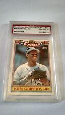 1990 Topps Rookies Ken Griffey Seattle Mariners #11 Baseball Card