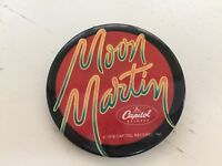 Moon Martin Promo Pin Shots From A Cold Nightmare Release 1978