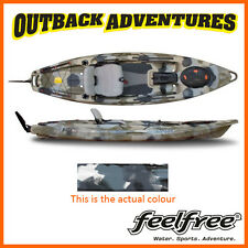 FEELFREE LURE 11.5 KAYAK WINTER CAMO with 230cm Day Tourer Paddle & Paddle Leash