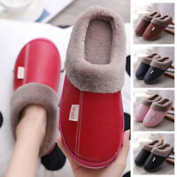Women's Winter Slippers Indoor Outdoor Soft Plush Lined Warm House Shoes 5Colors