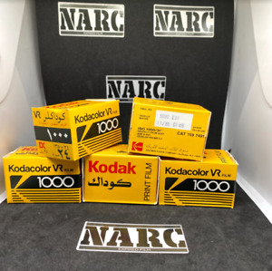 5x Kodak VR 1000 35mm EXPIRED FILM