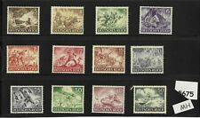 #5675   Complete Mint stamp set / Wehrmacht & other Military 1943 / Third Reich