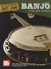 First Jams Banjo 5-String TAB Music Book & Play-Along Backing CD