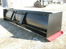 12 Ft Snow Pusher Attachment For Skid Steer