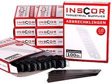 1000 Abbrechklingen f. Cuttermesser 18mm Ersatzklingen für Cutter Messer