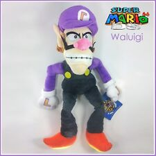 Waluigi Nintendo Super Mario Bros Character Plush Toy Doll Stuffed Animal 11""