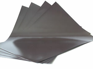 4xA4 Magnetic Sheets 0.4mm can be used as Placement Mat for Die Cutting Machines
