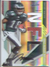 jeremy maclin rookie rc auto autograph 3x jersey ball patch eagles missouri #/10