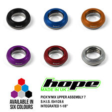 """Hope Pick'n'Mix Headset Upper Assembly 7 S.H.I.S. IS41/28.6 Integrated 1-1/8"""""""