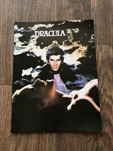 Vintage 1979 Dracula Movie Program