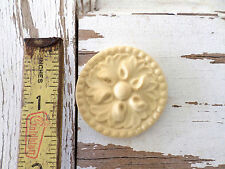 Furniture Architectural Appliques Rosette (set of 4) -Wood & Resin-New!