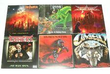 "Lot of 6x Vinyl LP's / THRASH,Heavy Metal / Defiance/Attacker/Omen ""NM Stock"""