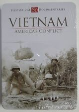 NEW Vietnam War: America's Conflict (DVD, 2010, 4-Disc Set, Tin Case)