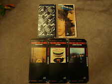 Rolling Stones Lot 5 CD Long Boxes Only - No Discs - No CDs