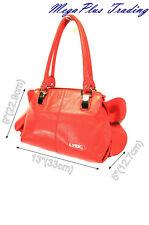 LYDC Designer Hobo Shoulder Tote Bag 8302 Red