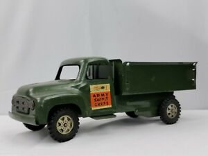 1950's Buddy L Army Supply Corps Truck