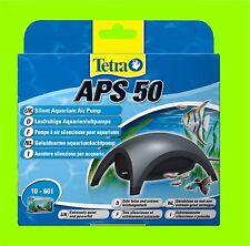 Tetra APS 50 Aquarienluftpumpe sehr leise Luftpumpe für 10-60l Aquarium