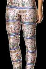 NEW Black Milk Clothing Museum LIMITED XXS Egyptian Parchment Leggings Halloween