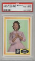 1960 Spins and Needles #20 Leslie Uggams Graded PSA 8