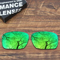 T.A.N Polarized Replacement Lenses for-Oakley Holbrook Green Mirrored fb86fb3d20