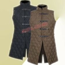 Medieval Thick Padded Gambeson Coat Aketon Jacket Armor sca larp